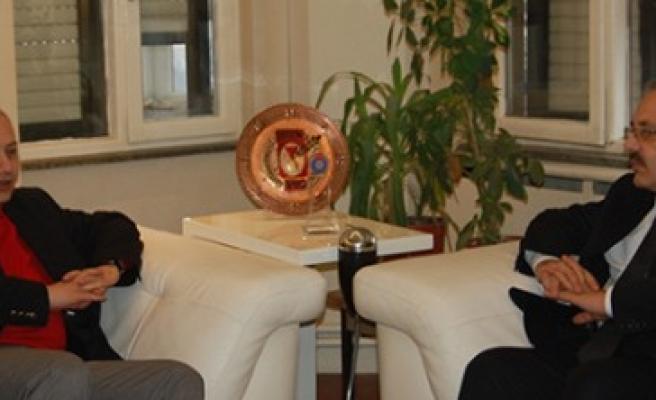 Toprak'tan Kgc Başkanı Kemal Sayın'a Ziyaret