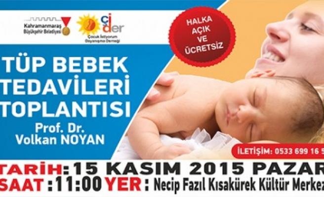 Tüp Bebek Tedavileri Toplantısına Buyrun