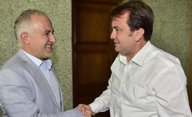 Türk Kızılayı'ndan Başkan Erkoç'a Ziyaret