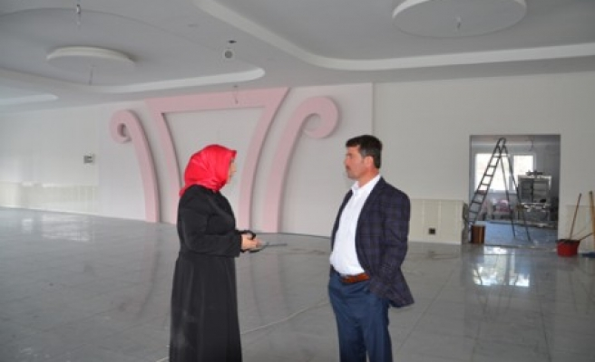 Türkoğlu Belediyesi Nikâh Sarayı Yapıyor