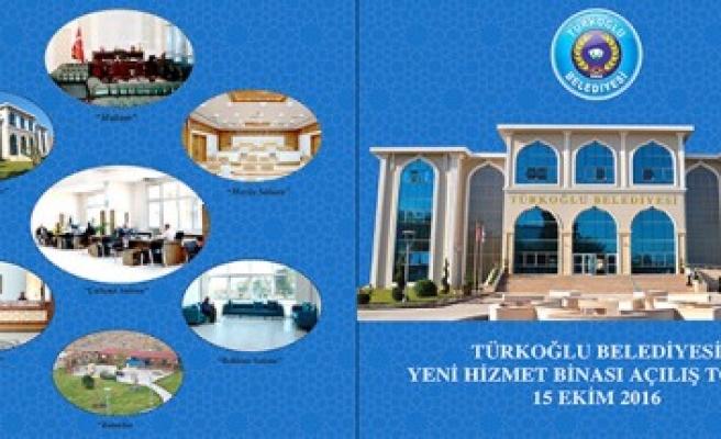 Türkoğlu Belediyesi Yeni Hizmet Binası 15 Ekim'de  Açılıyor