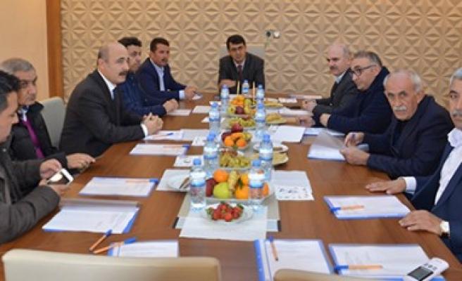 Türkoğlu OSB, Aralık Ayı Müteşebbis Heyet Toplantısı Düzenlendi