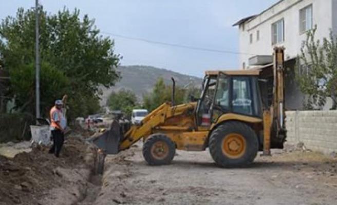 Türkoğlu'nda Doğalgaz Çalışmaları Devam Ediyor