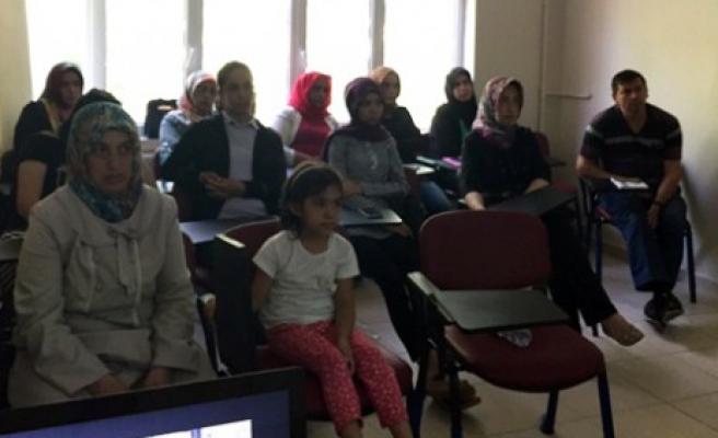 Türkoğlu'nda Mantar Yetiştiriciliği Kursu Tamamlandı