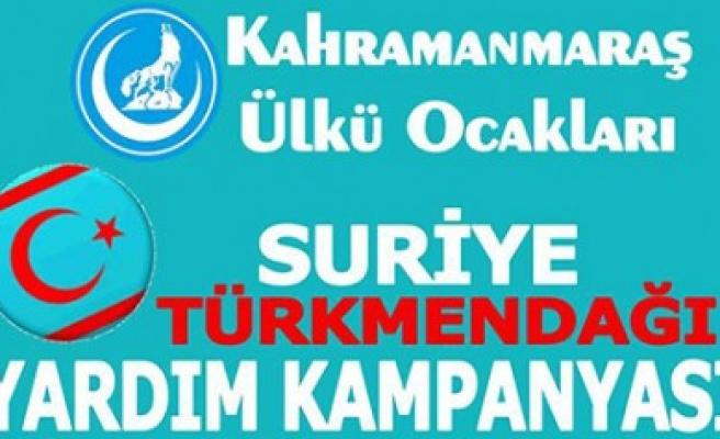 Ülkü Ocaklarından Türkmendağına Yardım Kampanyası
