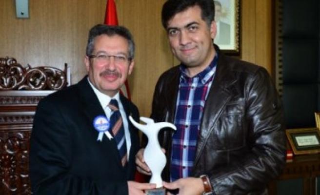 Meram Belediyesi Heyeti Kahramanmaraş'ta