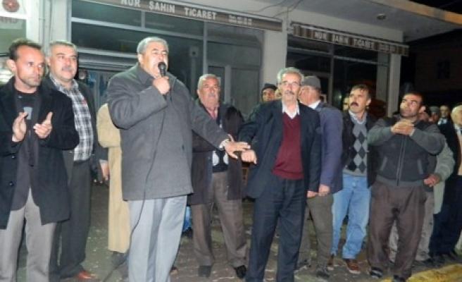 Vicdan'a Ak Pınar Köyünden Büyük Katılım