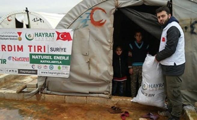 Yardımlar Halep ve Cerablus'a Ulaştı