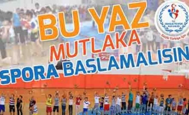 Yaz Spor Okulları Kayıtları Başladı