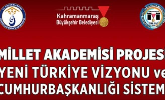 Yeni Türkiye Vizyonu Ve Cumhurbaşkanlığı Sistemi Konferansına Davet