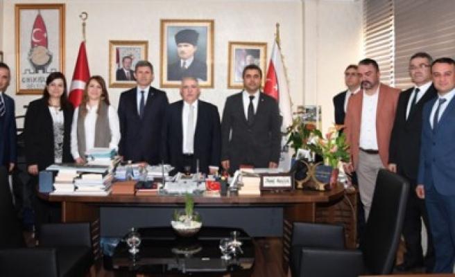 ZMO Yönetiminden Başkan Mahçiçek'e Ziyaret