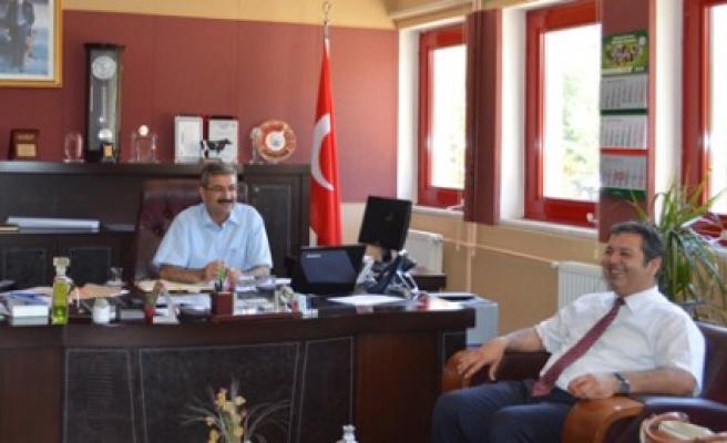 ZMO'dan Ziraat Fakültesi Dekanı ve Yardımcısına Ziyaret