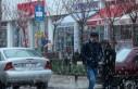 Afşin'e  Baharda Kar Yağdı