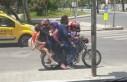 7 Kişi Bir Motosiklette