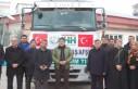 Kahramanmaraş'tan İdlib'e Yardım Malzemesi...