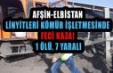Afşin-Elbistan Linyitleri Kömür İşletmesinde...