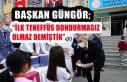 Başkan Güngör'den Ankara'da Öğrencilere Dondurma...