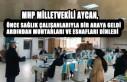Milletvekili Aycan, Her Fırsatta Soluğu Memleketinde...