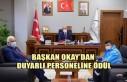 Başkan Okay'dan Duyarlı Personeline Ödül