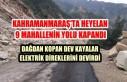 Kahramanmaraş'ta Heyelan 9 Mahallenin Yolunu...