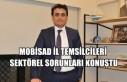 MOBİSAD İl Temsilcileri Sektörel Sorunları Konuştu