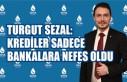 Turgut Sezal: Krediler Sadece Bankalara Nefes Oldu