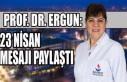 SANKO Ünivesitesi Öğretim Üyesi Prof. Dr. Ergun:...