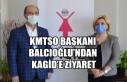 KMTSO Başkanı Balcıoğlu'ndan KAGİD'e Ziyaret