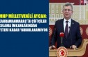 MHP Milletvekili Aycan: Kahramanmaraş'ta Çiftçiler...