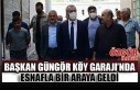 Başkan Güngör Köy Garajı'nda Esnafla Bir Araya...