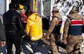 Yaşlı Hastanın Yardımına Jandarma Ekipleri Yetişti