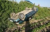 Bayram Dönüşü Feci Bir Kaza Daha! Otomobil Takla Attı