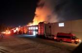 Aral Tekstil'deki Yangın Hala Söndürülemedi