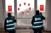 Elbistan'da Hükümlüler Okulların Tadilatını Yapıyor