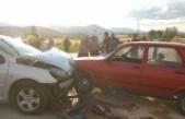 Afşin'de Zincirleme Trafik Kazası Çok Sayıda Yaralı Var