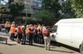 Parkomat Görevlisiyle Sivil Polis Memuru Arasında Kavga