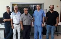Prof. Dr. Sami Özgül, Hekimlere Eğitim Veriyor