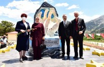 Çerkes Sürgünü Anıtı Açıldı