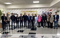 Kırgız Tekstilciler KMTSO'da İş Dünyası ile Buluştu