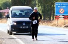 9. Elbistan-Afşin-Ekinözü Ultra Maratonu'nun Galibi: Hüseyin Haşhaş