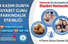 Büyükşehir'den Diyabet Etkinliği