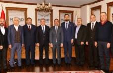 KMTSO Yönetimi MÜSİAD İle Bir Araya Geldi