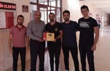 KSÜ Öğrencileri Yaptıkları Mobil Uygulamayla Hackathon Yarışmasında 1. Oldu