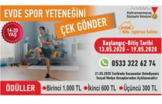"""Büyükşehir'den """"Evde Kal Sporsuz Kalma"""" Yarışması"""