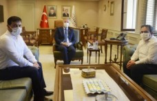 AKDO'dan Gaziantep Valisi Gül'e Ziyaret