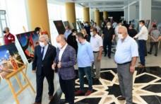 KSÜ'de '15 Temmuz Demokrasi ve Milli Birlik Günü Resim Sergisi' Açıldı