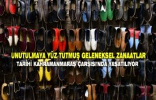 Geleneksel Zanaatlar Tarihi Kahramanmaraş Çarşısı'nda Yaşatılıyor