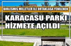 Birleşmiş Milletler İle Ortaklaşa Yenilenen Karacasu Parkı Hizmete Açıldı