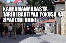 Kahramanmaraş'ta Tarihi Bahtiyar Yokuşu'na Ziyaretçi Akını