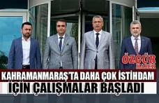 Kahramanmaraş'ta Yatırım Yeri Sıkıntısı Çözülüyor